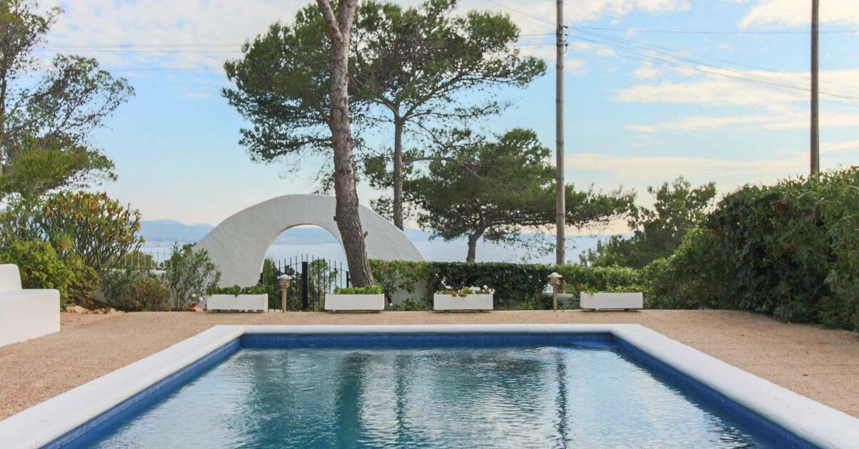 View from Casa Negret in Ibiza